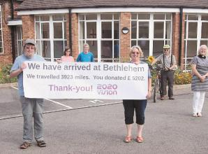 Maidenhead church raises thousands in Bethlehem challenge