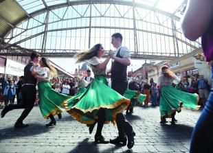 In pictures: Rhythm of Dance group perform in Windsor